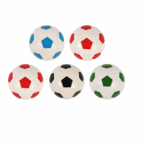 Football Balls - Assorted Designs Bouncy Jet Ball 35mm